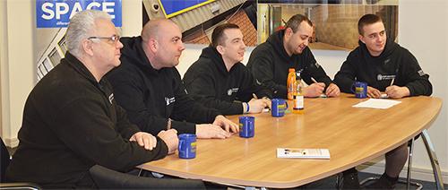 In house loft boarding staff training