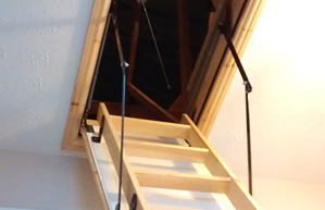 Wood ladders and Hatches