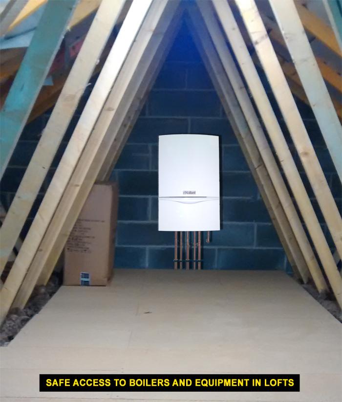 boiler access